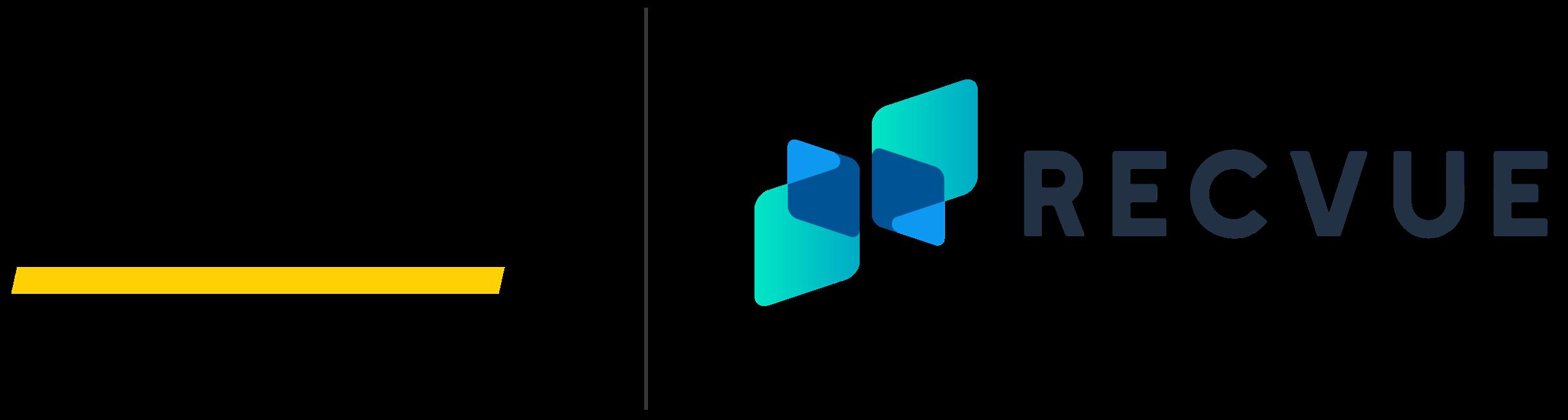Hertz and Recvue logo